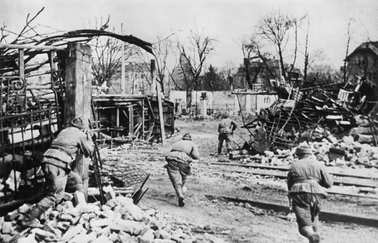 Бои в Германии 1945