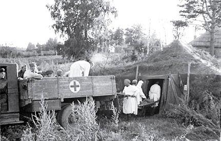перевозка раненых