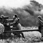 Одно орудие против 7 танков