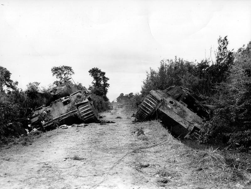 Подбитые танки