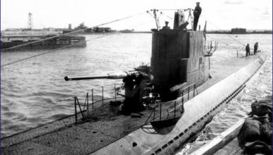 Подводная лодка Северного флота