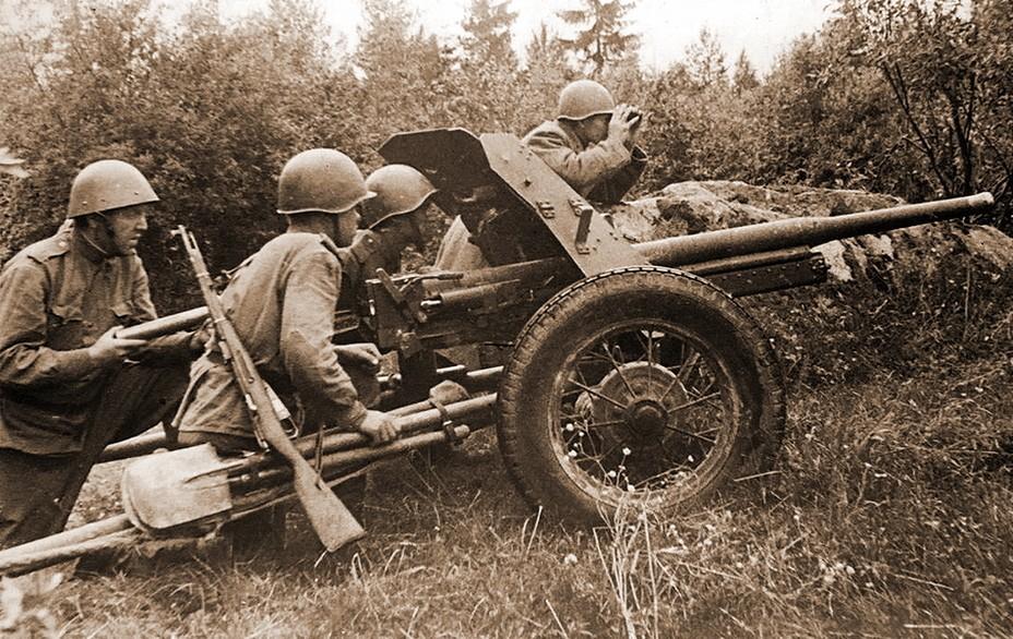 Пушка 45 калибра (сорокопятка)
