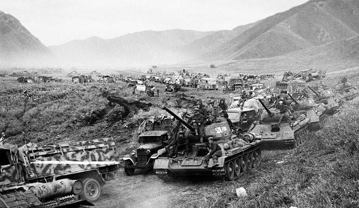 Советские войска в Маньчжурии