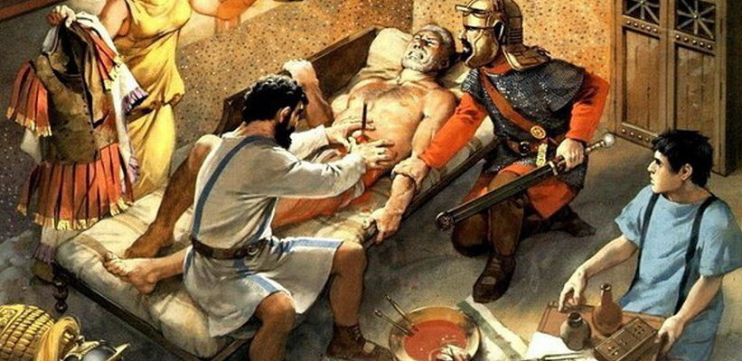 Личный врач императорской семьи в Древнем Риме