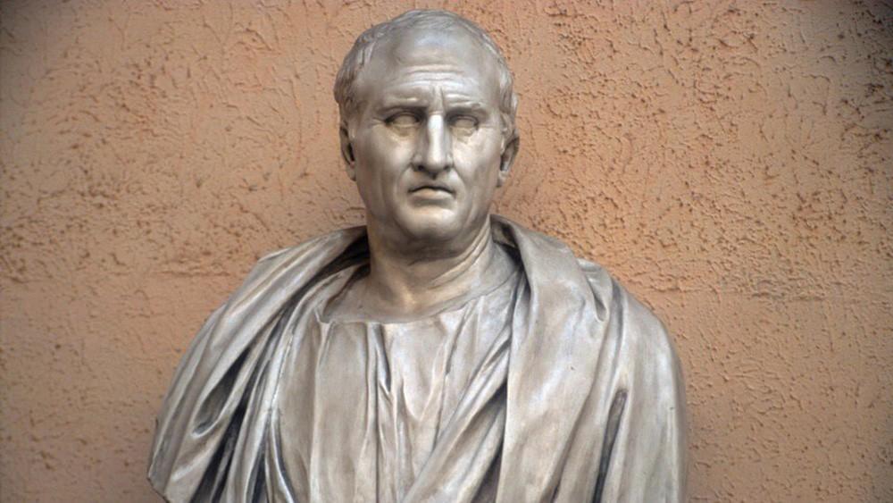 Разоблачающая речь Цицерона