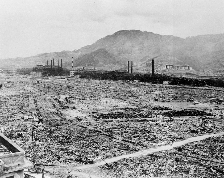 Нагасаки до и после