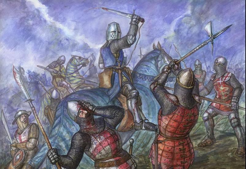 войска Эдуарда III