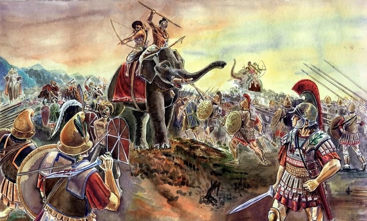 Кампания Александра Македонского в Индии