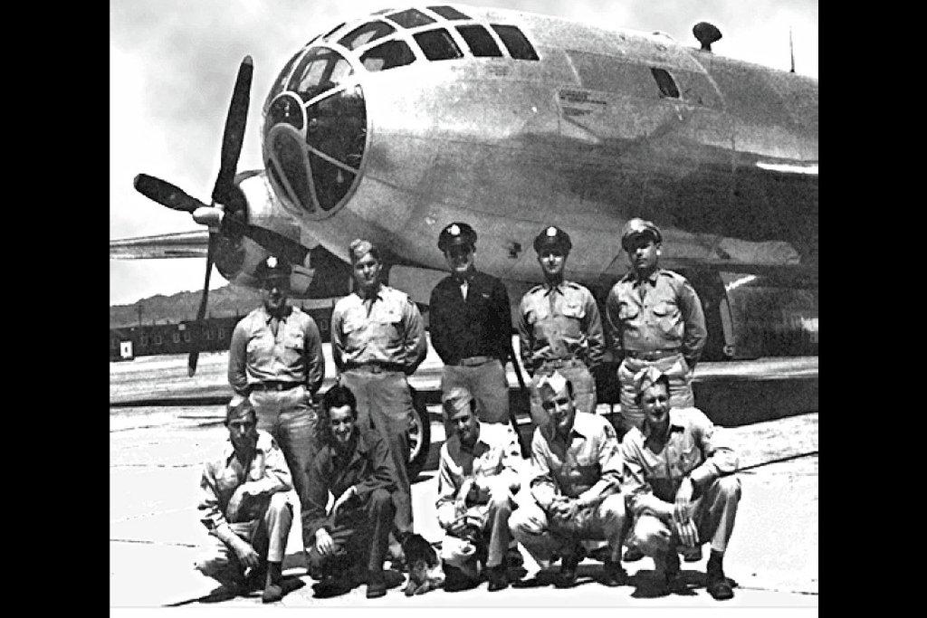 После бомбардировки Нагасаки