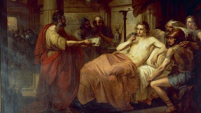 Смерть Александра Македонского в Вавилоне