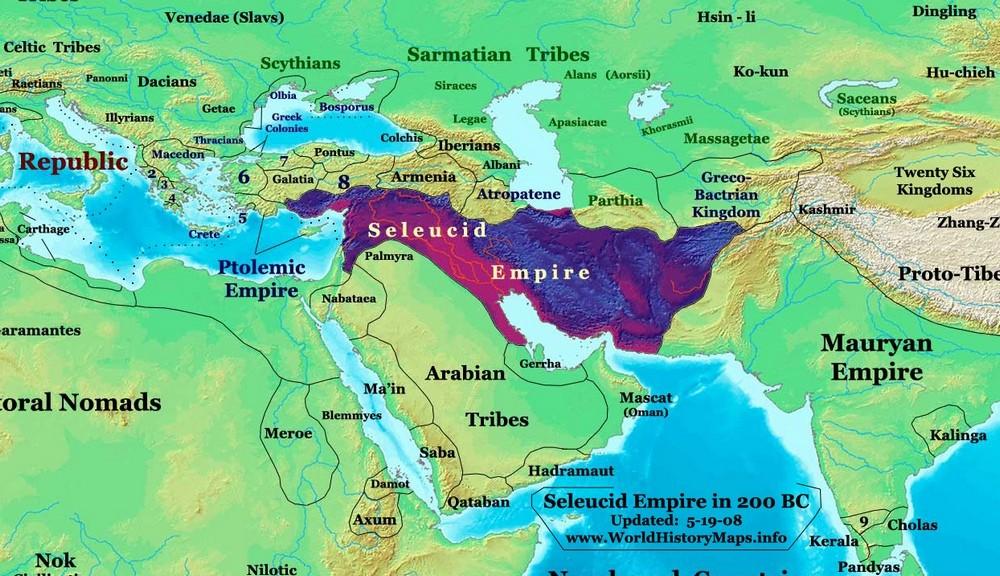 империи Селевкидов