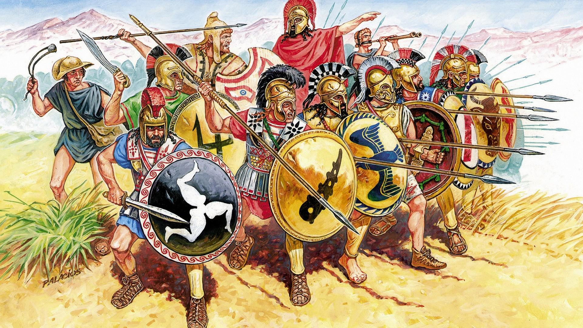 Древнегреческая армия