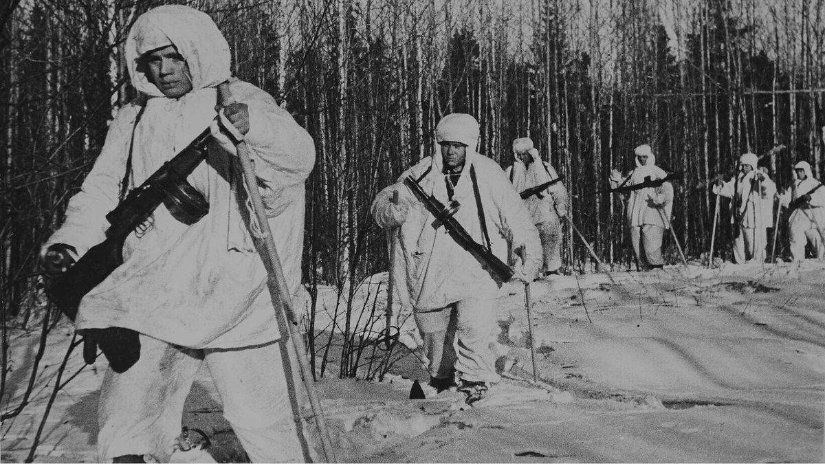 Лыжники на войне