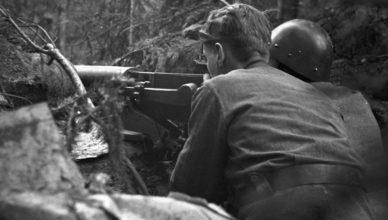 Пулеметчики под Медвежьегорском