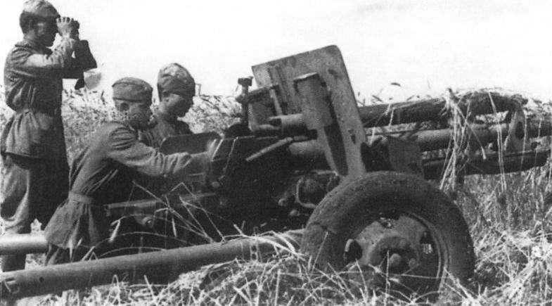 Пушка артиллеристов