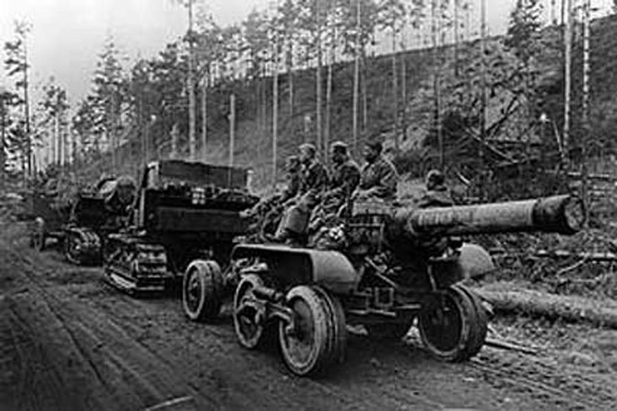 Артиллерия бод Кондопогой