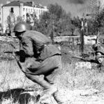 Советские автоматчики Великая Отечественная война
