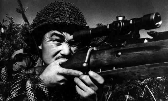 Снайпер из Карелии 1942 год