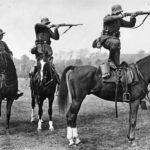 Наступление фашистской конницы