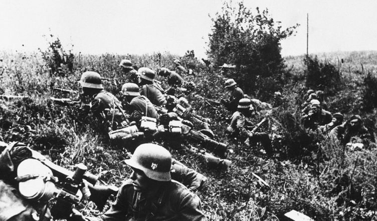 Первый бой с фашистами на литовской границе