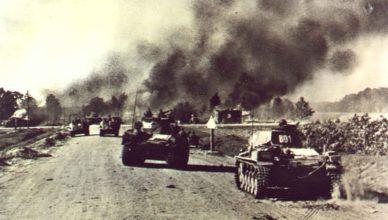 Первые бои войны