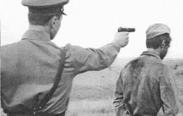 Вынести приговор и расстрелять старосту хутора
