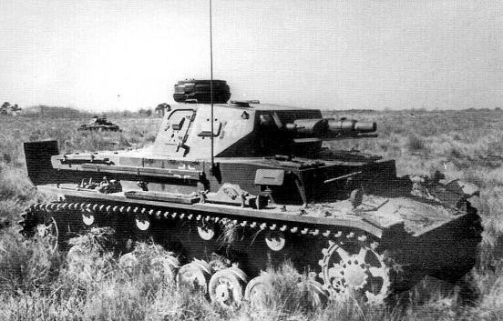 Немецкий танк ПЗ-1