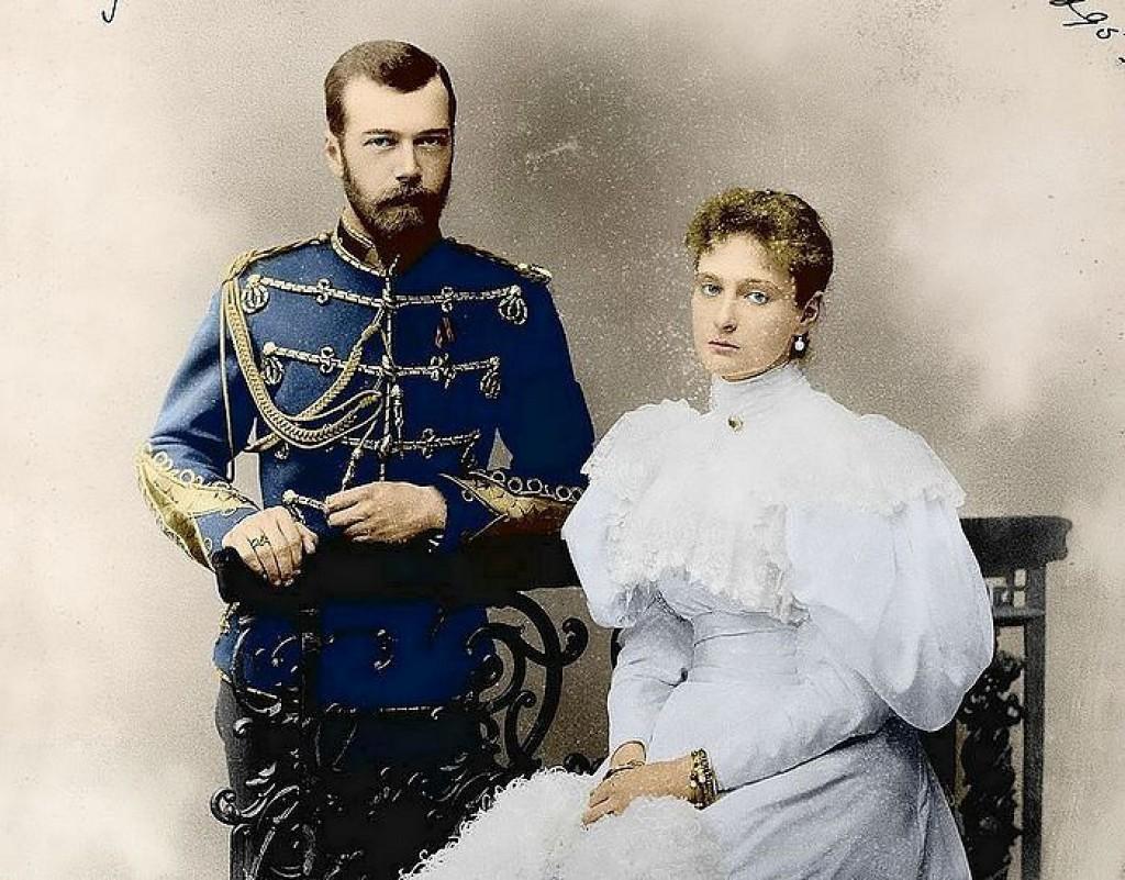 свадьба Николая II