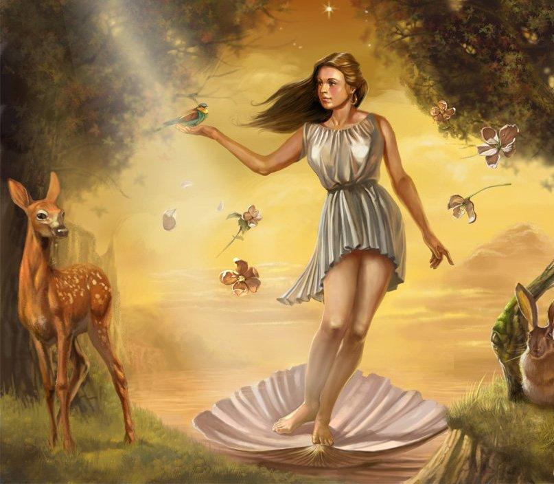 Древнегреческий миф афродита