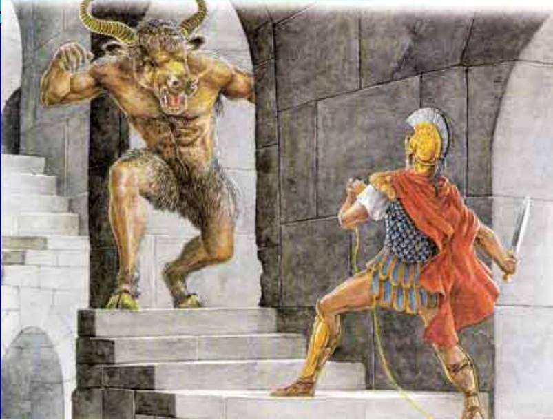 Минотавр и Тесей
