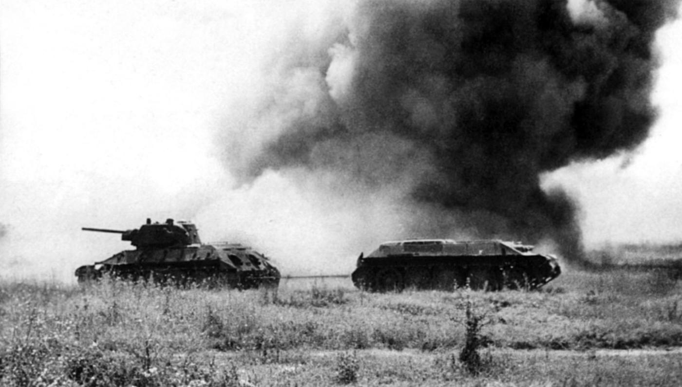 Буксировка танка