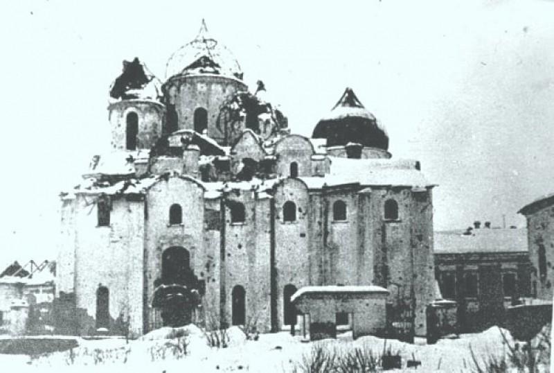 Кремль Новгород ВОВ