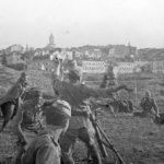 Ожесточенные бои в Польше