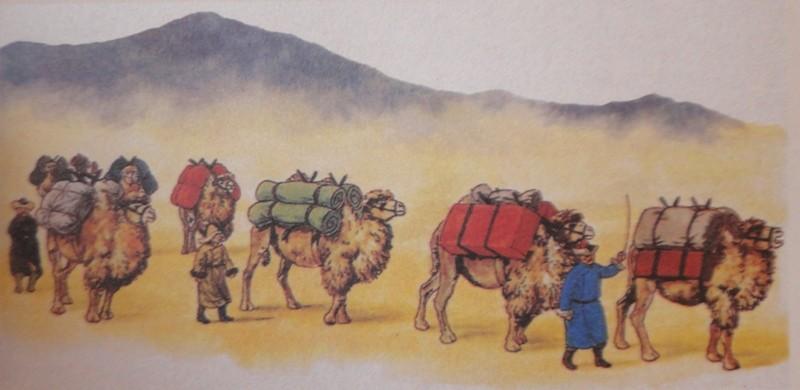 Караван на шелковом пути
