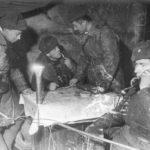 Психическая атака немцев на Советских солдат
