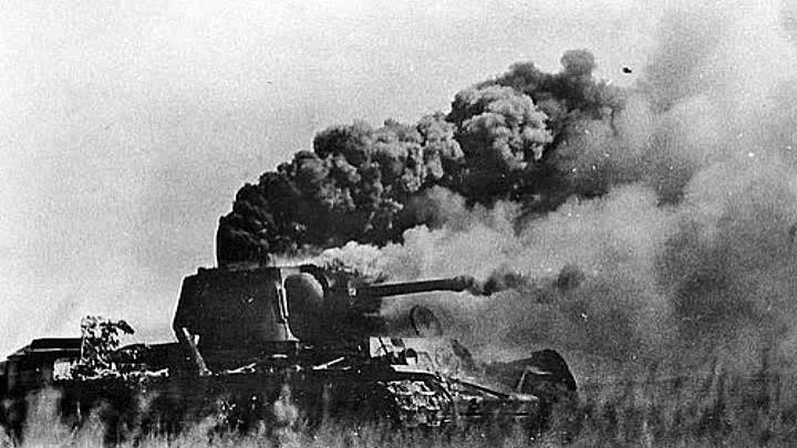 Т-34 горит