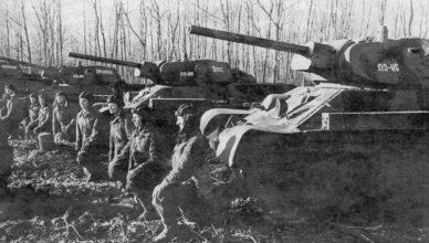 4 танка т-34