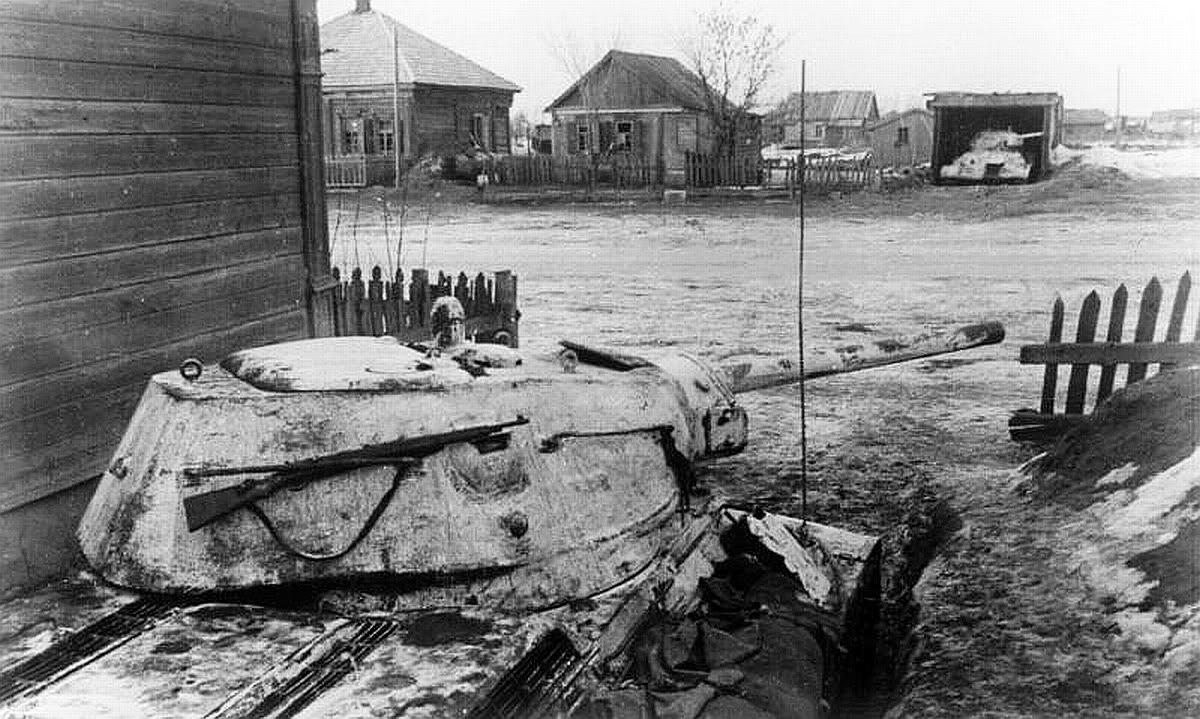 Танки в засаде зима 1943 год