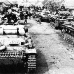 Фашисты, окопавшиеся у села Страхолесье