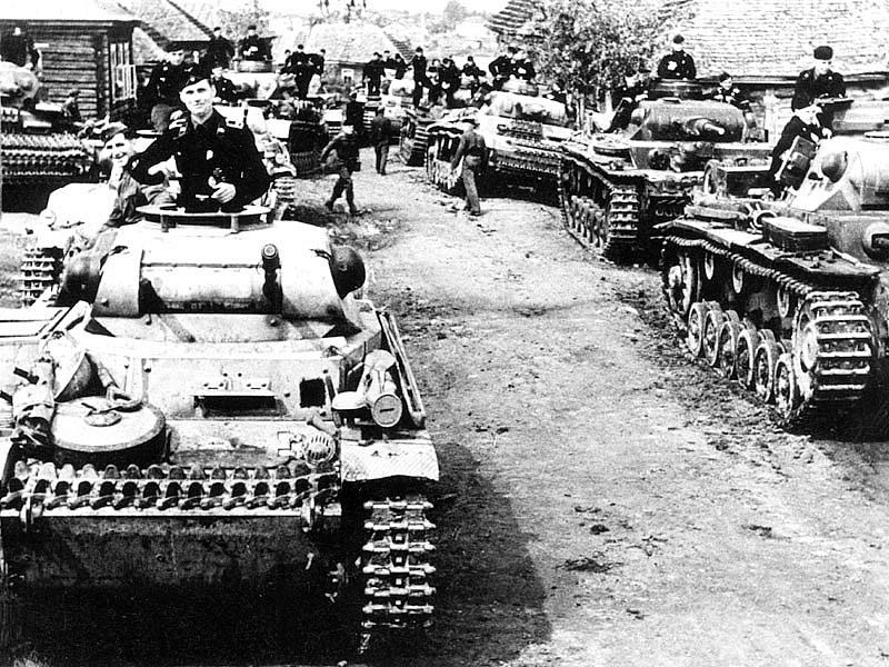 Фашистские танки ВОВ