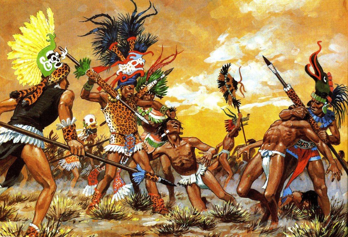 воины ацтеки