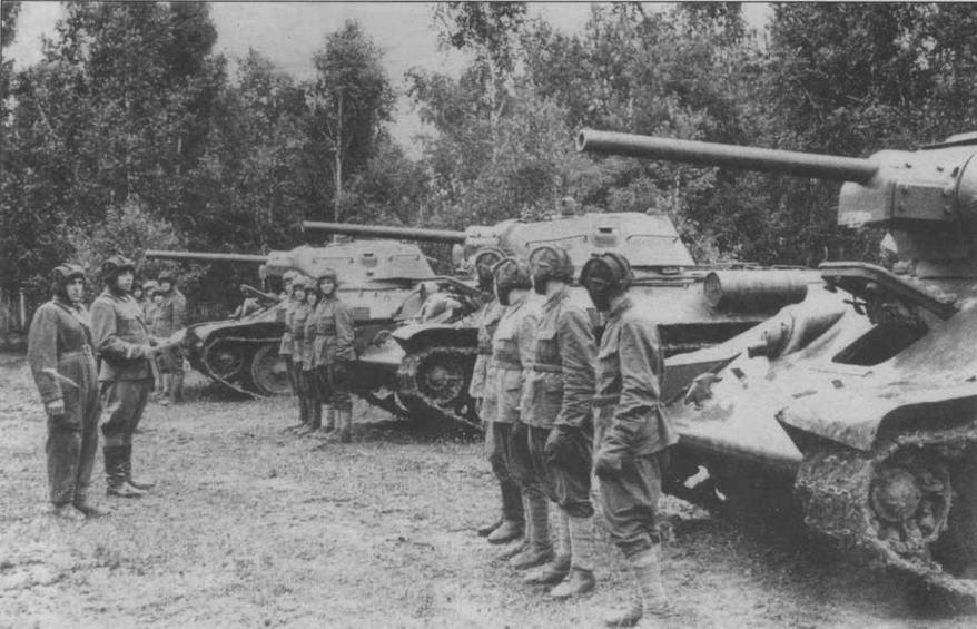 3 танка т-34 вов