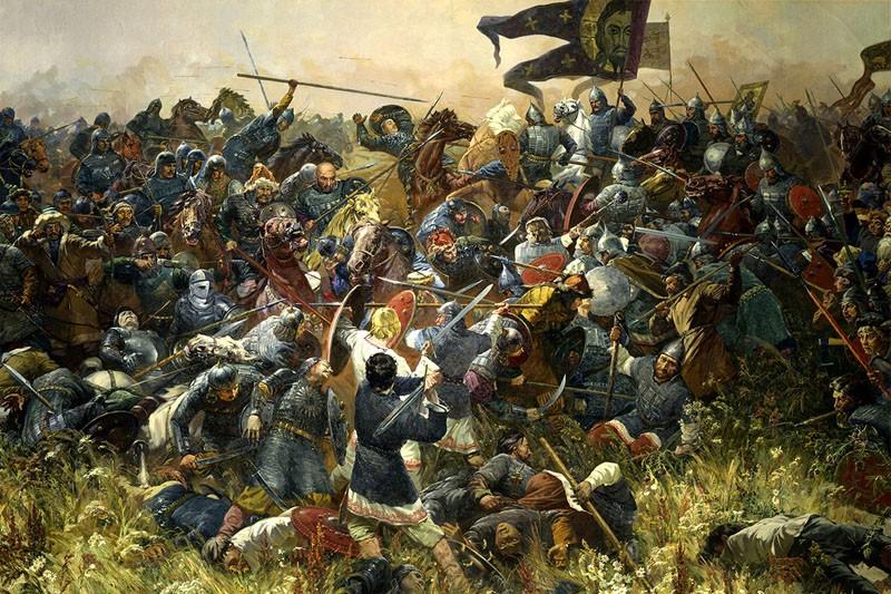 Сражение Куликовская битва
