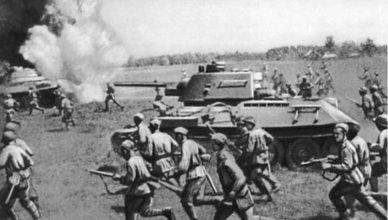 атака бойцов советской армии вов
