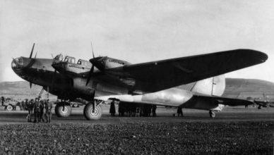 Советский бомбардировщик ВОВ
