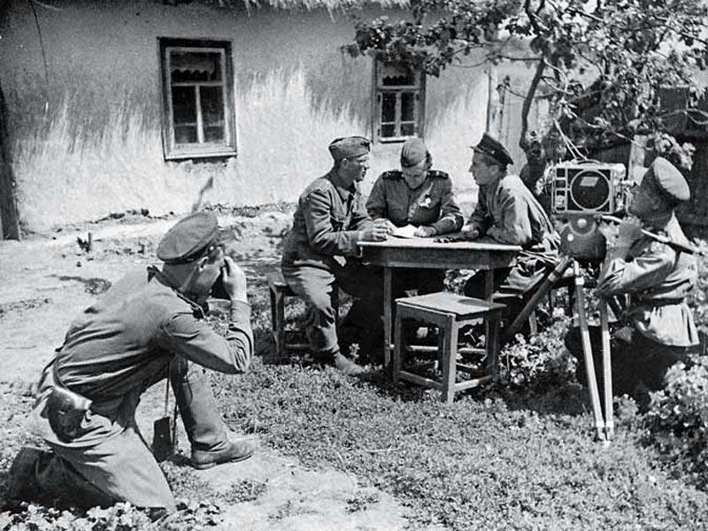 корреспондент на войне вов