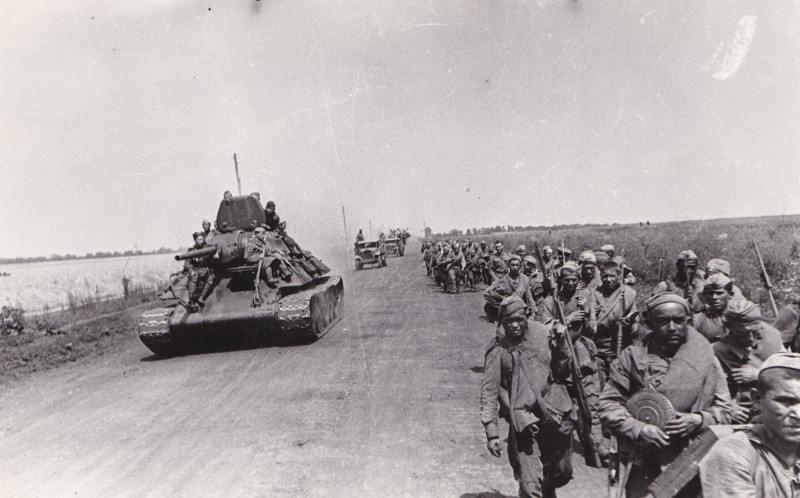 марш красной армии вов