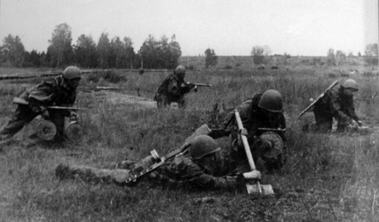минирование переднего края обороны ВОВ