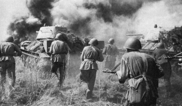 наступление красной армии вов