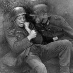 Плачущий немецкий солдат